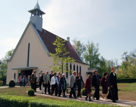 Die Evangelische Friedenskirche in Oos