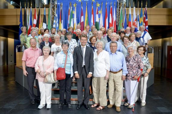 Visitors group Daniel CASPARY